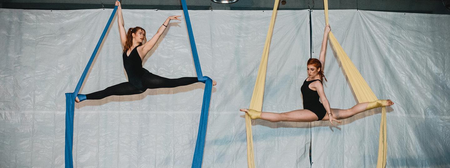 Μαθήματα aerial silks