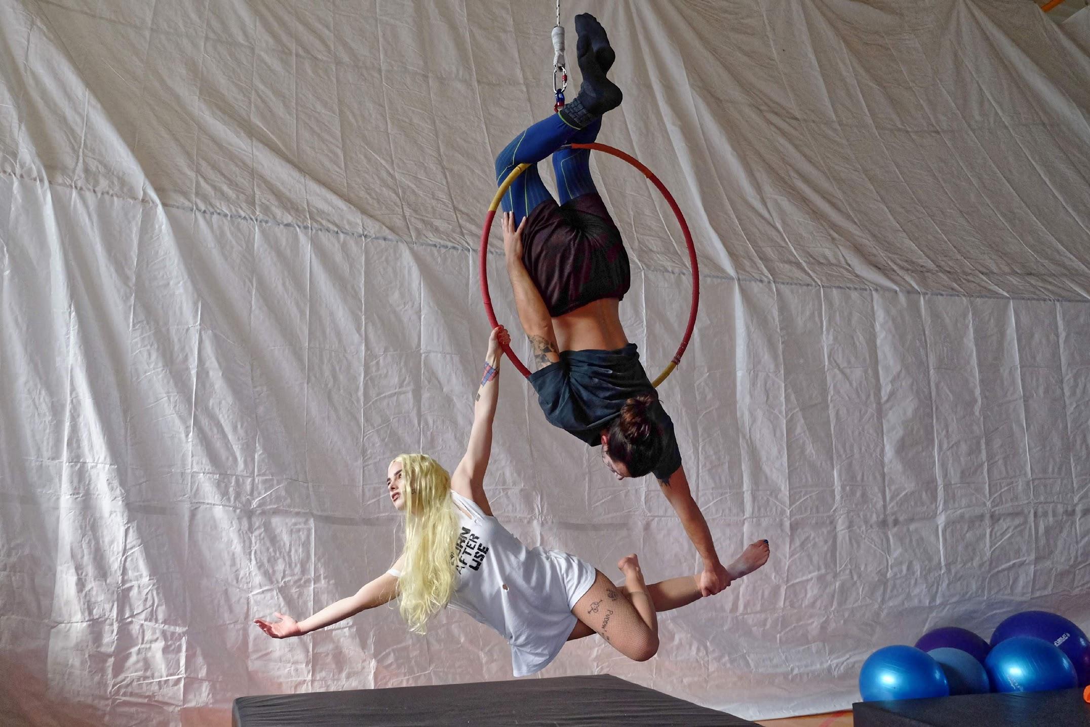 Μαθήματα aerial hoop